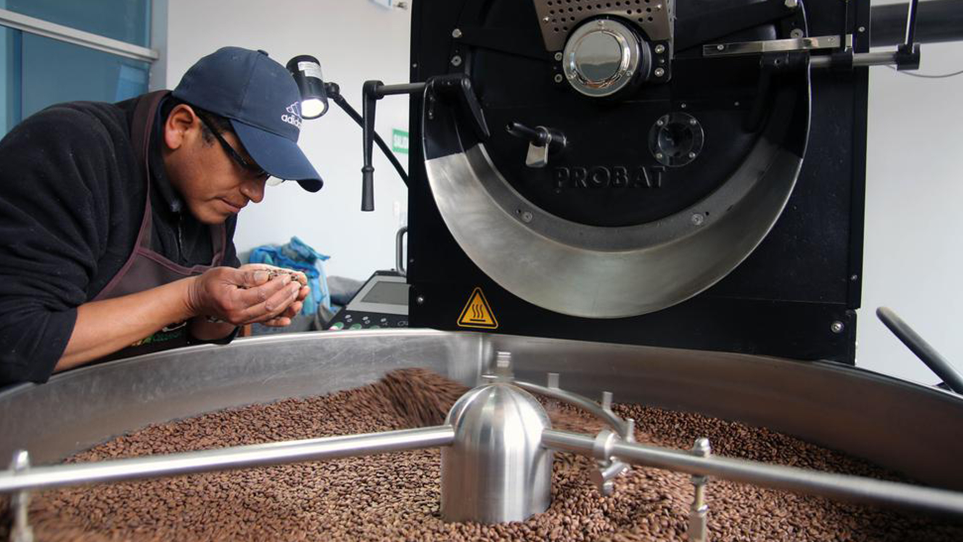 Planta procesadora de café