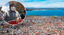 Presidente de la Central de Barrios y Urbanizaciones de la ciudad de Puno, José Churayra