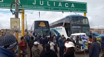 Transportistas interprovinciales de Puno acatarán paro