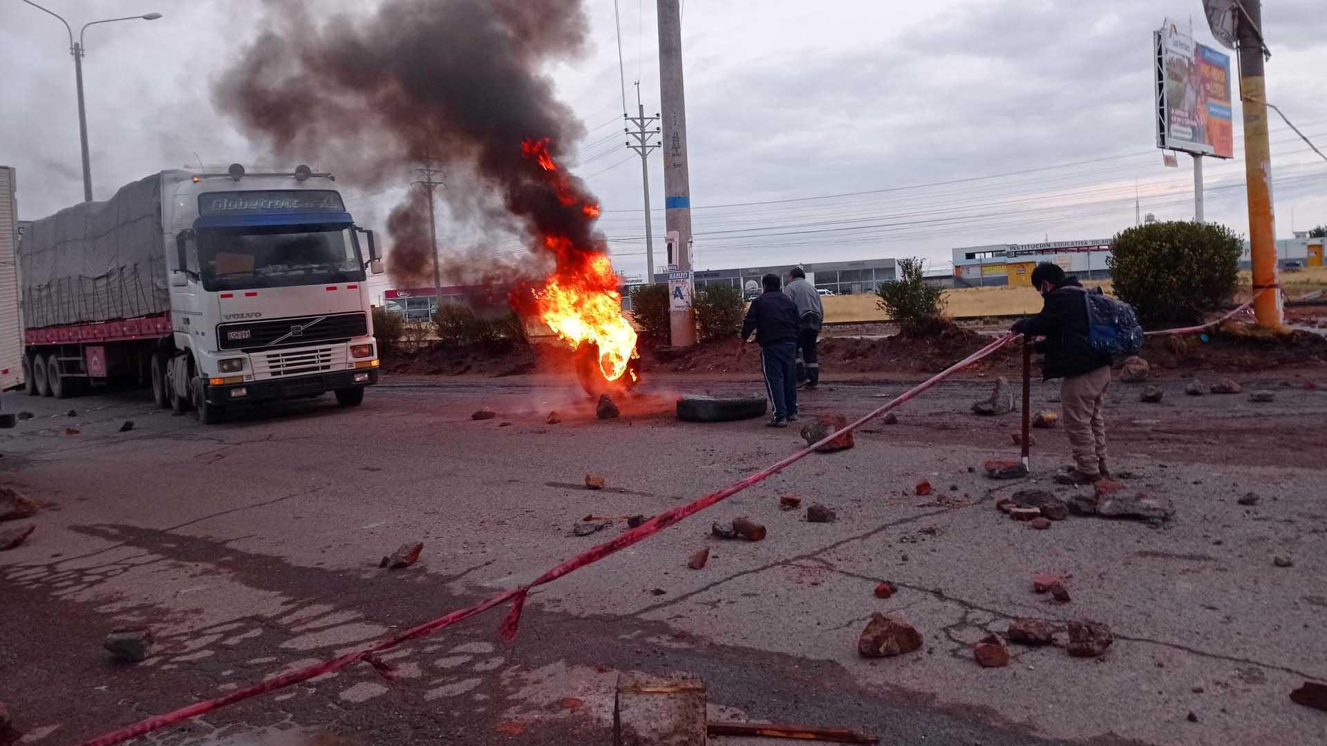 Trasportistas interregionales de Puno, apoyarán al paro nacional indefinido desde el 26 de octubre
